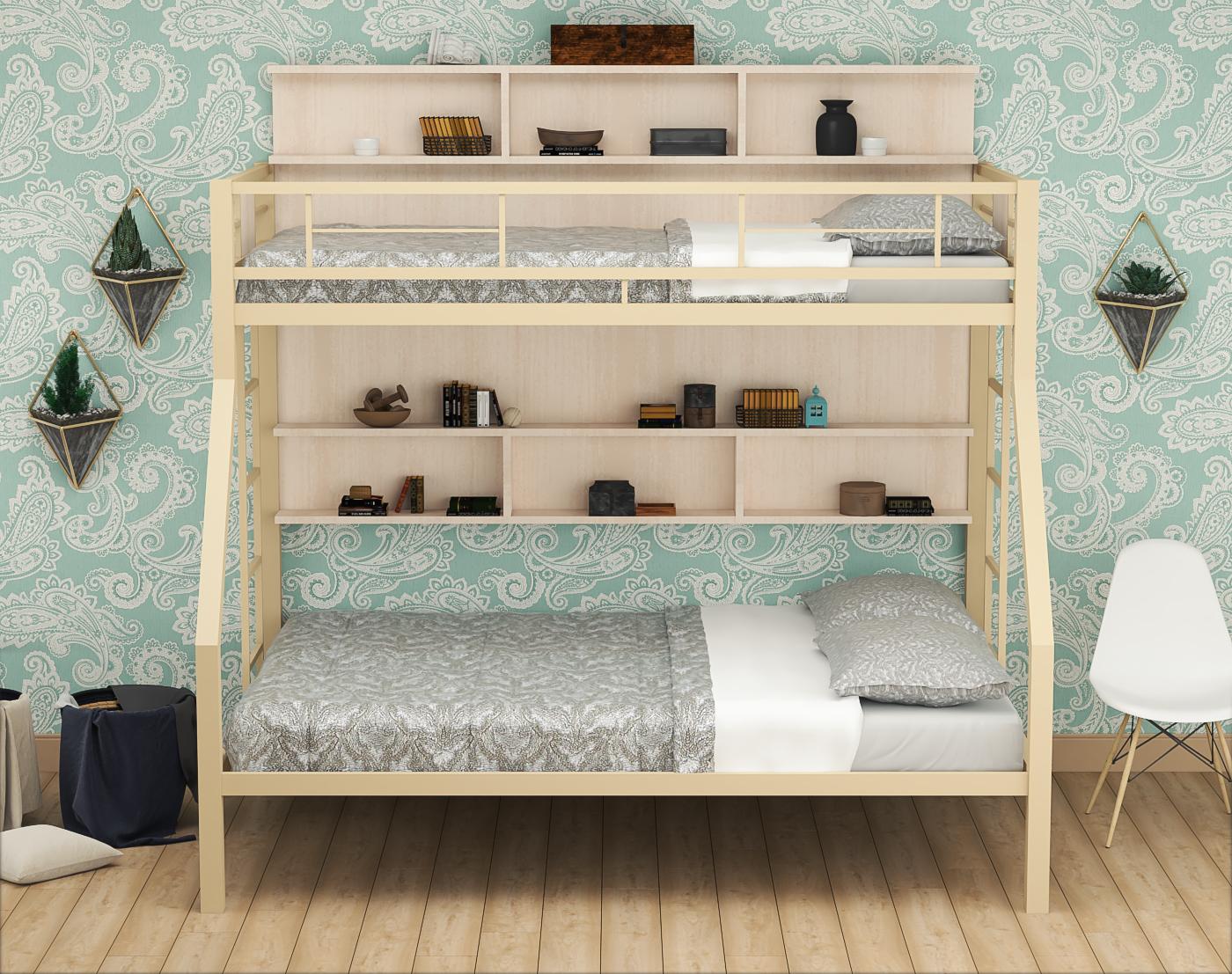 """Двухъярусная кровать Гранада П/П - """"Мебель Друг"""" - Мебель от производителя"""